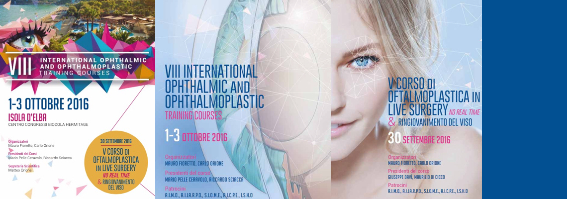 10.2016 – 8° International Ophthalmic & Opthalmoplastic Course – Elba